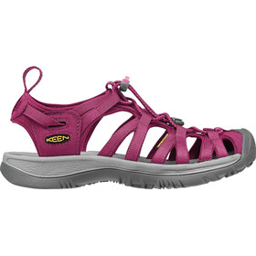 Keen Whisper Sandals Women Beet Red/Honeysuckle